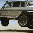 How could a lifted Mercedes-Benz G63 AMG be more awesome? Add an axle - Autoblog