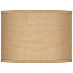 Woven Burlap Lamp Shade 13.5x13.5x10 (Spider) - Style # 9K693