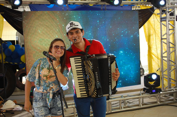 Rodolfo Lopes fez a festa para todos os presentes no SESC Seridó