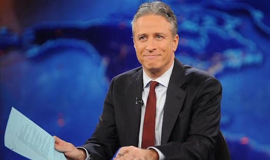 Jon Stewart bids farewell to Fox News by torching them one last time