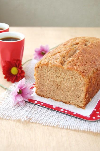 Chesnut pound cake