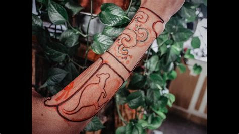 hand tattoo drawing youtube