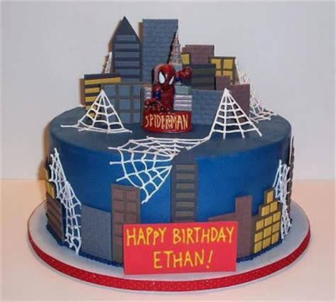 17 Best images about Spiderman Cakes on Pinterest   Spider