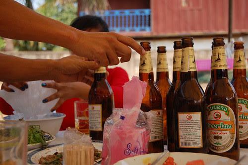 Vientiane: baci ceremony