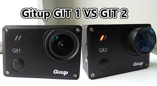 Gitup Git 1 vs Git 2 camera comparison : Which one is better? | Pevly