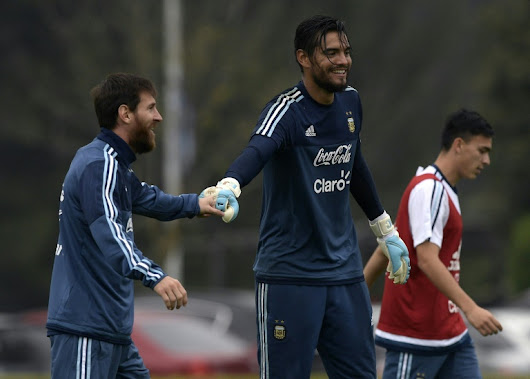 No Messi but Argentina 'have to' beat Brazil, says Romero - World Soccer Talk