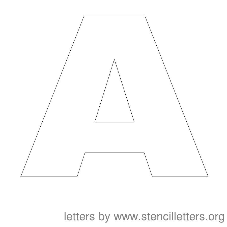 Printable Letter Stencils Calendar June