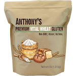 Viablee`s Vital Wheat Gluten: High Protein, Vegan & Non-GMO - Vegan Eco-Friendly Zero-Waste Sustainable