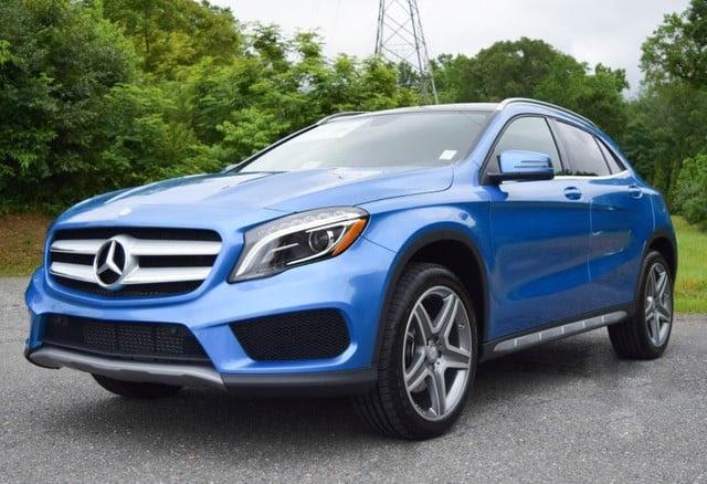 2015 South Seas Blue Metallic Mercedes-Benz GLA-Class ...