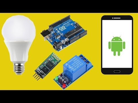 basic turn light on off with mobile phone arduino android app. Black Bedroom Furniture Sets. Home Design Ideas