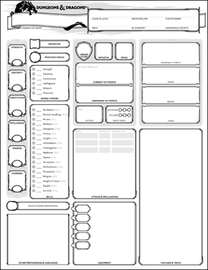 1000+ ideas about Dnd Character Sheet on Pinterest   Character ...