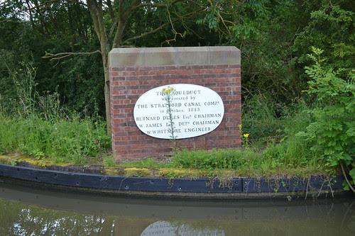 Wootton Wawen Aqueduct, Stratford-upon-Avon Canal, Wootton Wawen