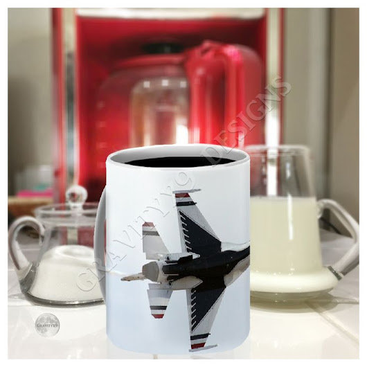 Thunderbird Jet Fly-by Coffee Mug for Sale by Gravityx9 Designs in 2019 | ``Instagram | Gifts, Unisex gifts, Personalized gifts