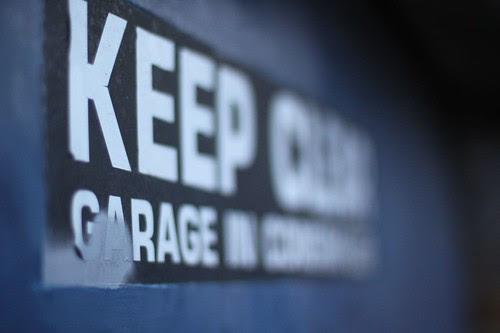 Keep Clear Garage by ultraBobban