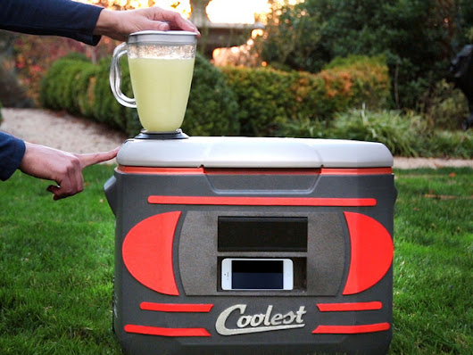 The Coolest: Cooler with Blender, Music and So Much More
