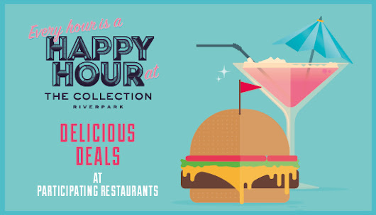 Your Guide to Happy Hour at The Collection  - The Collection Riverpark