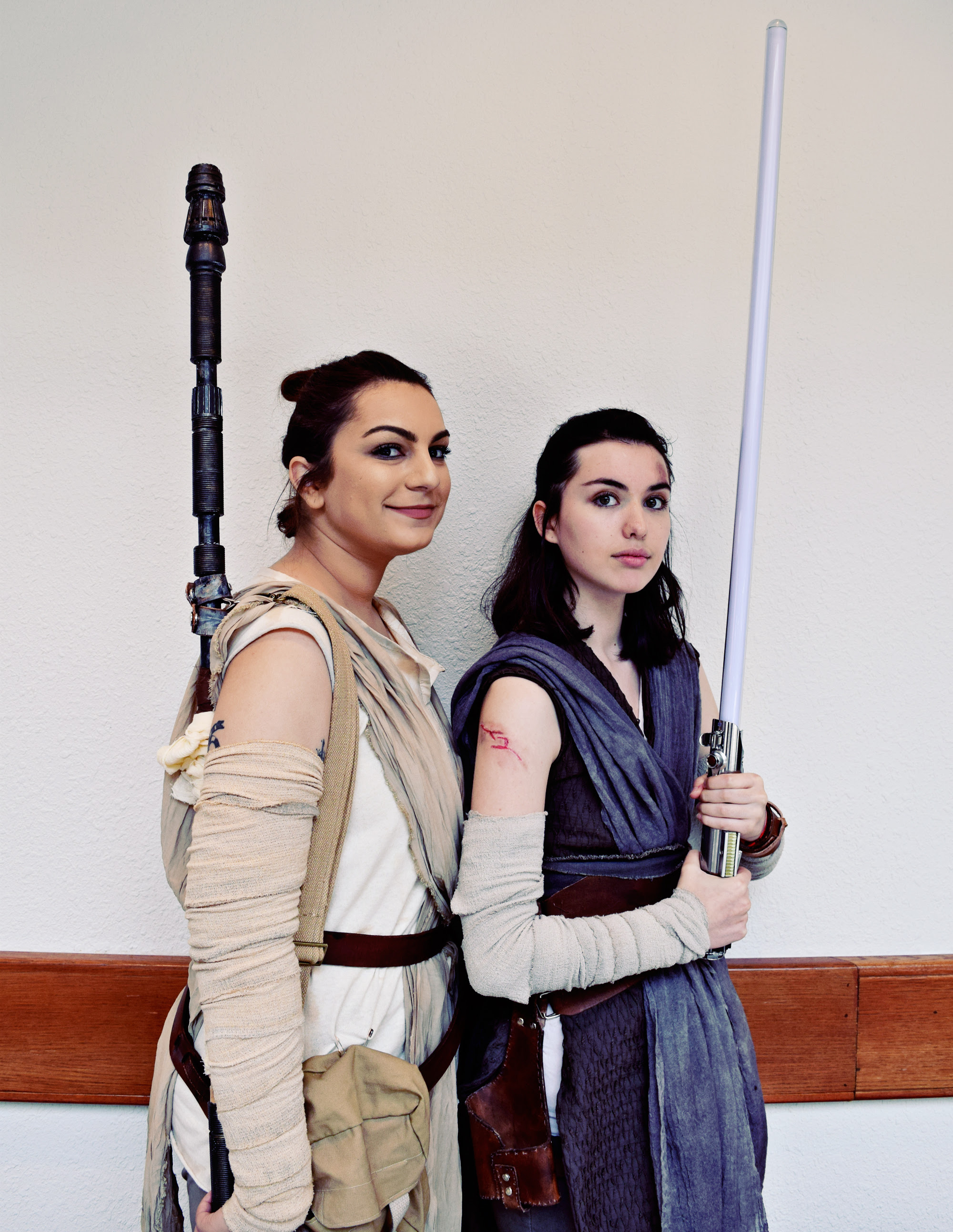 Star Wars Cosplay & Fan Creations at Nerdbot-Con 2018 | Anakin and His Angel