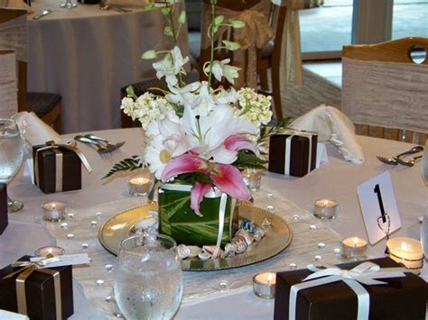 Decorating Ideas for Wedding Reception Tables 1