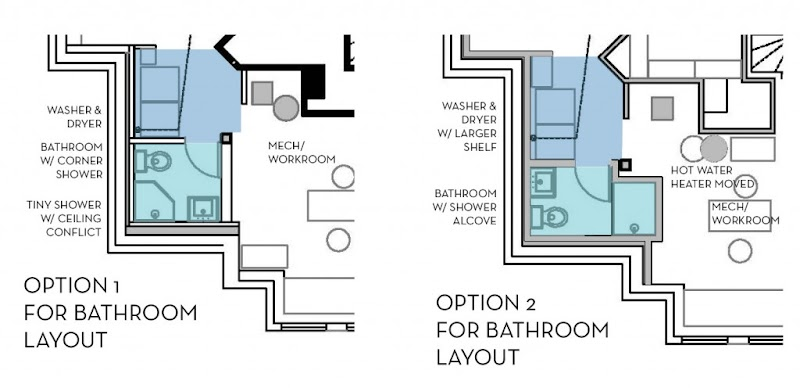 Get Inspired For Basement Bathroom Blueprints Photos