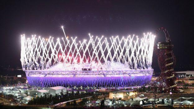 Fogos de artifício nos Jogos de Londres