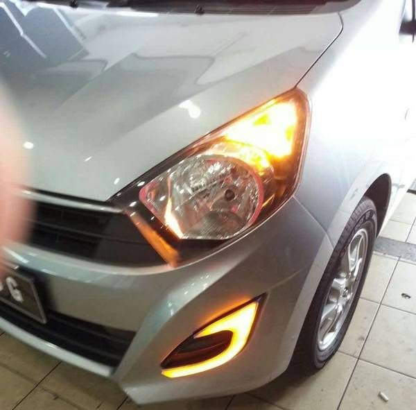Buy PERODUA AXIA E, G, SE Spec 2 in 1 LED Light Bar Fog