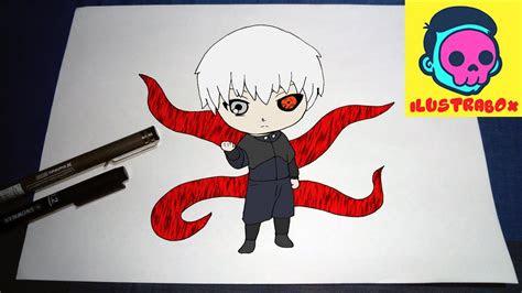 como dibujar ken kaneki tokio ghoul   draw ken