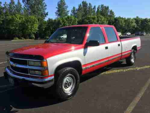 Chevrolet Silverado 3500 Chevy Crew Cab Low Miles  For Sale
