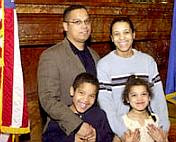 Rep. Keith Ellison and family