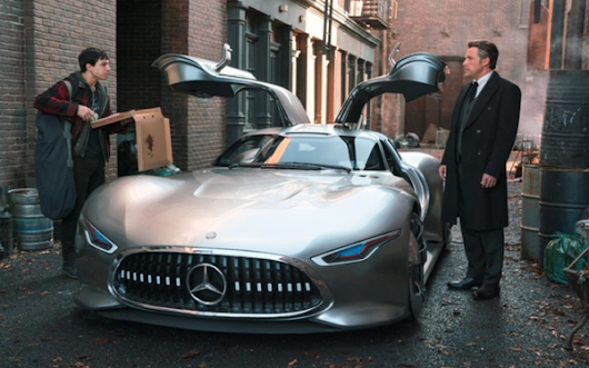Mercedes-Benz Launches 'Justice League' Tie-in