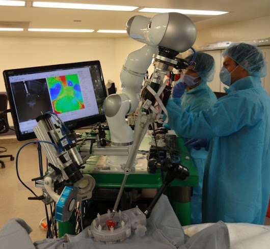 First autonomous robot to operate on soft tissue outdoes human surgeons