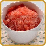 Tomato and Salted Plum Granita