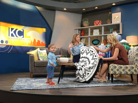 KC TV Live Features SwimZip Sun Protection | SwimZip® Rash Guard Swimwear | Sun Protective Clothing For Toddlers | Baby & Women's Sun Protection
