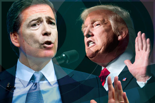 Trump Has Dirt on Comey: STRATEGIC FIRING of Swamp Rat James Comey