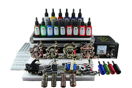 Kit Tattoo 8 Machine + 15 colors