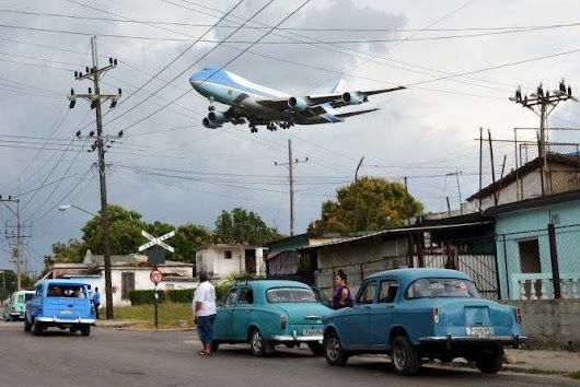 VIDEO: Boeing 747 Air Force One In Cuba