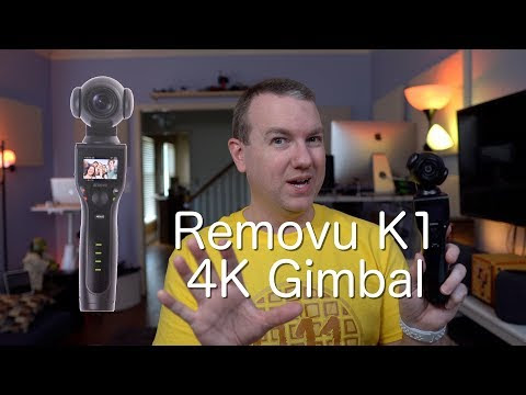 Removu K1 4K Action Camera with 3-Axis Gimbal: Unboxing, Sample Video, TimeLapse, Slow Motion