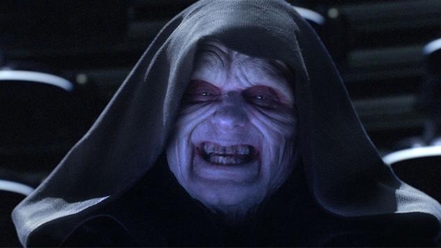 Una nueva novela de Star Wars podría cambiarle el nombre al emperador