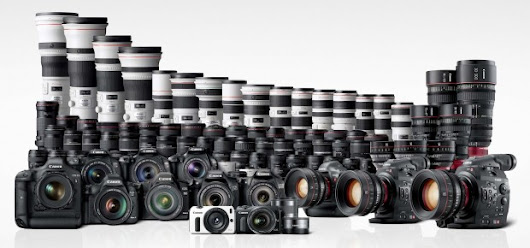 Up to 50% Off on Refurbished Canon Camera & Lens Sales