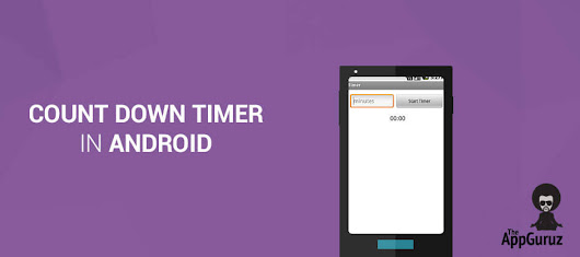 Android Count Down Timer