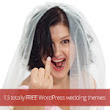13 totally FREE WordPress wedding themes reviewed!