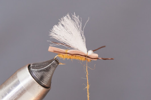 Mini Chubby Fly Tying Tutorial
