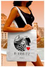 Sac Tote-Bag Biarritz Plage été 2015