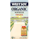 West Soy Organic Soy Milk - 32 fl oz carton