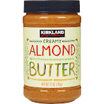 Kirkland Signature Creamy Almond Butter, 27 oz
