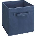 "ClosetMaid Cubeicals Fabric Drawer, 11"" Square, Blue"