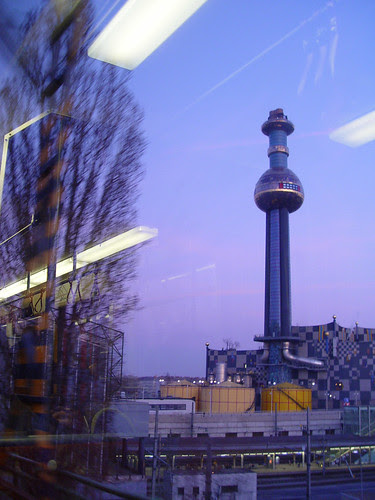 fernwärme view from train