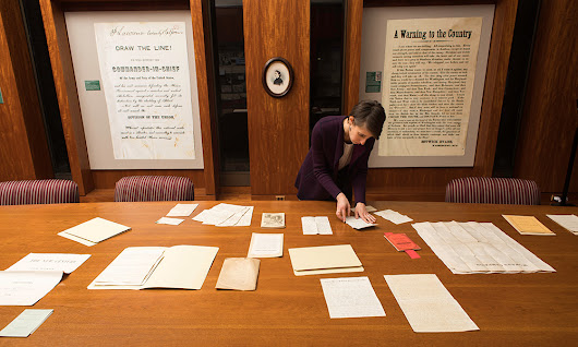 Library acquires unknown Susan B. Anthony letters found in old barn  : NewsCenter