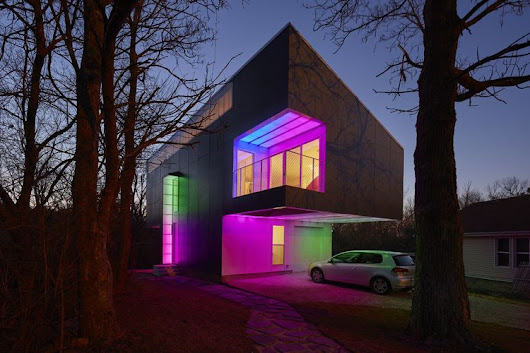 Mood Ring House: Would You Wear Your Emotion on Your Home?