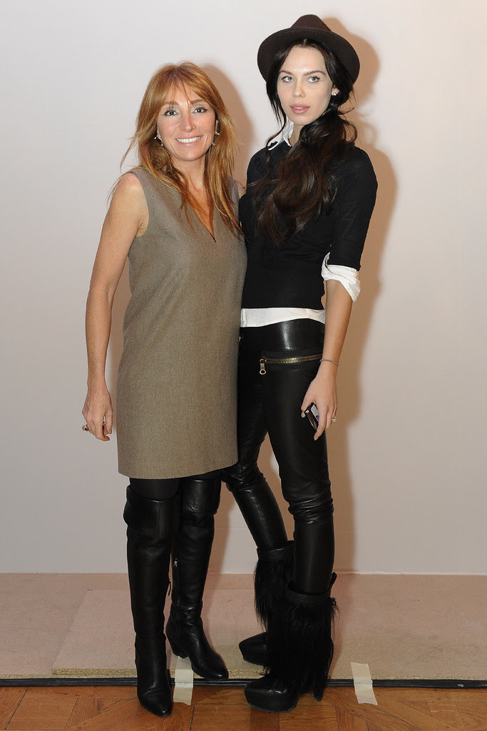 Dilek Hanif and  Liliana Matthäus – wife of football player Lothar Matthäus