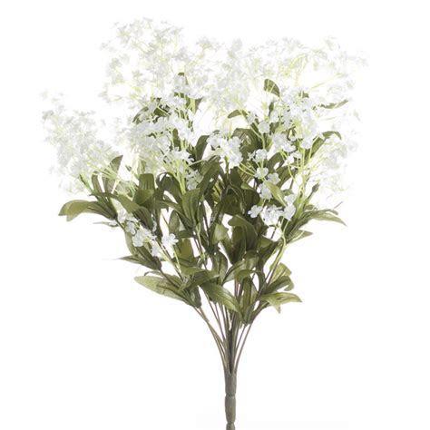 Artificial Wild Baby's Breath Bush   Bushes and Bouquets